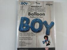 "Blue Baby Boy 20"" Air Fill Shape Foil Balloon Baby Shower Balloons"