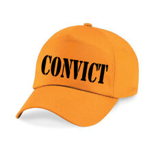 CONVICT Printed Baseball Cap Funny Joke Drink Beer STAG NIGHT