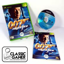 James Bond 007: Nightfire (original Xbox) Shooter-Free p&p * Near Comme neuf *