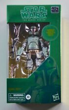 Hasbro (E99275L0) - Star Wars The Black Series Carbonized Collection Boba Fett Toy Action Figure