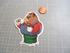 FAT MARIO GLOSSY Sticker / Decal Skateboard Laptop phone Stickers NEW