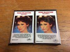 Vintage Reba McEntire Volumes I & II 1991 Cassette Tape