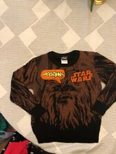 Star Wars Chewie is My Co-Pilot Long Sleeve Shirt Size 4 or 5//6 Chewbacca New