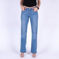 Levi's 529 Curvy Bootcut hellblau Damen Jeans DE 34 / US W27 L32