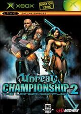 XBOX Unreal Championship 2- EXCELLENT CONDITION with book