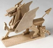 Dragon: Timberkits Self-Assembly Wood Construction Moving Model Kit