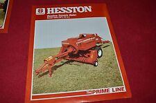 Hesston 4650 Beeline Square Baler Dealer's Brochure 700704233L LCOH
