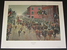 Mort Kunstler -  IRON HORSES MAN OF STEEL -  CollectibleCivil War Print