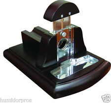 DeskTop Desk Top Guillotine Cigar Cutter with Blade Safety Lock Retail Store
