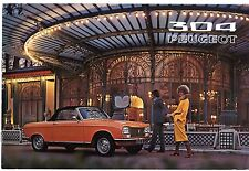 Peugeot 304 Coupe & Cabriolet 1971-72 French Market Sales Brochure