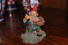 Rien Poortvliet Classic David the Gnome Statue Lucky