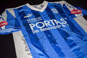 Puma SG Wallau/Massenheim Trikot Shirt Jersey Handball 93/94 #9 Autogramme XL