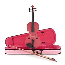 Student 3/4 Violin by Gear4music Pink
