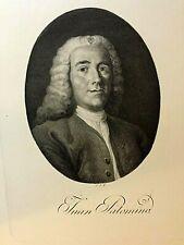 Retrato de Juan Palomino. Tomás  López Enguídanos, finales del siglo XVIII