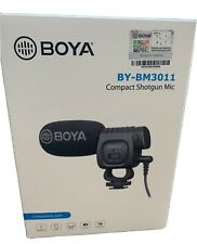 BOYA Compact Directional Shotgun Condenser Microphone for Camera Audio Recording