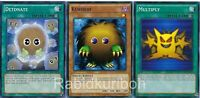 Yugioh Kuriboh + Multiply + Detonate - Set Lot