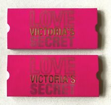 Set 2 Love Victoria'S Secret Pull Open Gift Card Holder Vintage New!