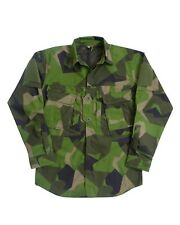 Arktis A110 Combat/ Hot Climate Field Shirt - Swedish M90 Camouflage