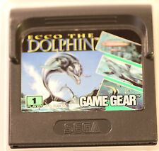 SEGA GAME GEAR  GAMEGEAR ECCO THE DOLPHIN  GAME (GAME ONLY)