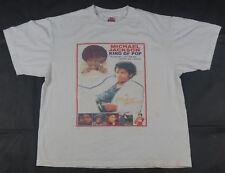 Rare INTEX Michael Jackson King Of Pop Memorial Tribute T Shirt Thriller 5 SZ XL