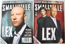 2005 Smallville Official Magazine Issue 5 Both Covers Michael Rosenbaum VF-NM