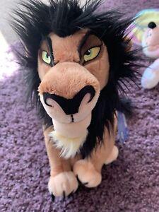 Disney Scar Plush Teddy