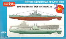 Mikromir 350-010 Soviet Navy Submarine shch class series x hasta-u Boot - 1:350