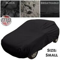 Black Indoor & Outdoor Protection Breathable Full Car Cover for VW Golf Mk1 Mk2