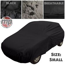 Black Indoor & Outdoor Breathable Full Car Cover to fit Renault 5 & Clio (90-04)