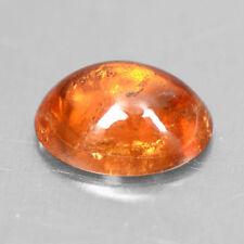 1.81 Cts Natural Lustrous Top Fanta Orange Spessasrtite Garnet Oval Cab 8x6 mm $
