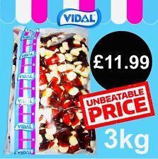 Vidal Pint Pots 3kg Bag Retro Sweets Jelly Candy Pick N Mix Party Treats