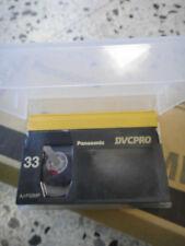 PANASONIC DVCPRO AJ-P33MP LOTE 9 VIDEO CASSETE NUEVO SIN USAR VIRGEN TAPE