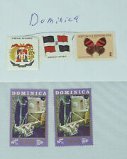 Postage Stamps Dominica Republic Variety of Stamps