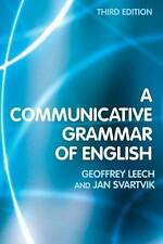 A Communicative Grammar of English by Jan Svartvik (Paperback, 2003)