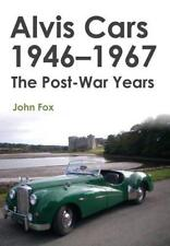 Alvis Cars 1946-1967: The Post-War Years by Fox, John, NEW Book, FREE & FAST Del