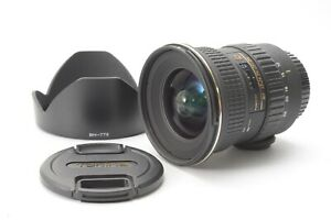 Tokina 12-24mm f/4 ATX PRO DX Wide-Angle Lens for Canon - With Hood and F/R Caps
