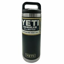 Brand New YETI Rambler 18 OZ Stainless Steel Bottle - Red Black Navy or Seafoam