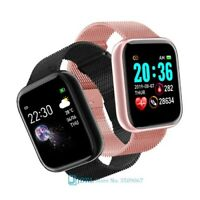 Waterproof Smart Watch Heart Rate Monitor Fitness Tracker for Android IOS.Reloj