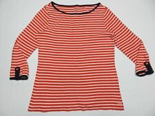 WOMENS striped SHIRT TOP blouse = VINEYARD VINES = MEDIUM = te45