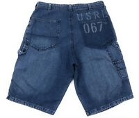 Polo Jeans Co Ralph Lauren Updated Carpenter Jean Shorts Mens 33 Medium Wash