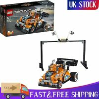 NEWEST LEGO Technic Race Truck 42104 Pull Back 2-in-1 Model 227 Pieces Gift Toy