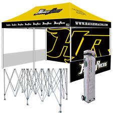 Ez Pop Up Canopy 10X20 Custom Graphics Digital Printed Outdoor Trade Show Tent