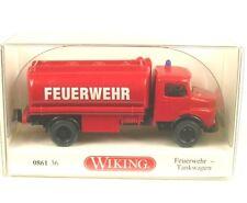 1/87 Wiking MB Capó corto Camión cisterna bombero 0861 39