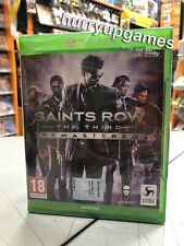 Saints Row The Third Remastered Ita XBox One NUOVO SIGILLATO
