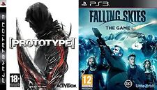 PROTOTYPE & FALLING SKIES THE GAME    NEW&SEALED  PS3  PAL