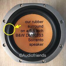 "1 x RUBBER surround 6,5"" for B&W Bowers & Wilkins DM602.5, DM601, DM603 Sorrento"