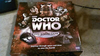 PAUL LAMOND GAMES BBC DOCTOR WHO DVD BOARD GAME. GAME IS COMPLETE
