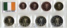 SERIE COMPLETA 8 MONETE EURO IRLANDA irlande irland ireland eire 2002 _ FDC