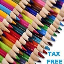 72 Colored Pencils Set Bright Vibrant Colors for Artist Non Toxic No Duplicates