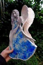 ANGELO in ceramica da appendere ARTE fatto a mano realizzato a mano BELLISSIMI COLORI Fattoria shop 06-06